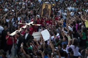 La croce della giornata mondiale della gioventù arriva a Rio de Janeiro