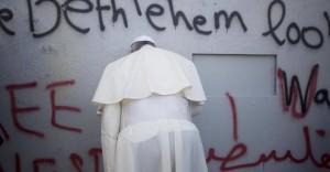 Papa Francesco a Betlemme
