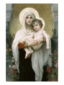 william-adolphe-bouguereau-madonna-of-the-roses