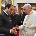 Pope Francis meets Egyptian President al-Sisi